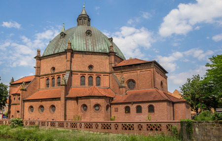 st german: St. Augustinus church in the center of Nordhorn, Germany