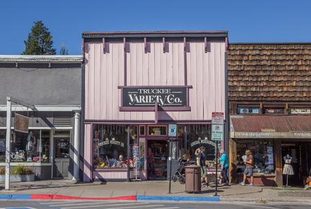 main street: Shops at main street Truckee, California, USA