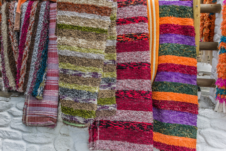 rugs: Handmade rugs of Las Alpujarras in Capileira, Spain