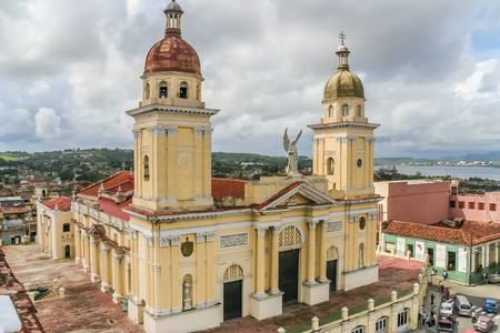 santiago: Cathedral in the historical center of Santiago de Cuba Editorial