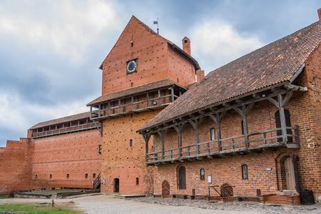 sigulda: The Turaida stone castle near Sigulda in Latvia