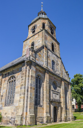 protestant: Reformed Protestant church of Bad Bentheim, Germany Stock Photo