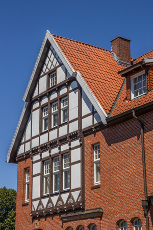 half timbered house: Half timbered house in the historical center of Bad Bentheim, Germany