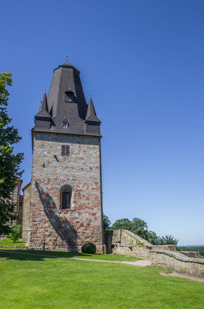Tower of the castle in Bad Bentheim, Germany