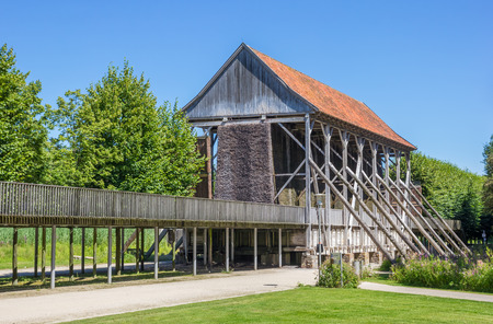 westfalen: Old building of the Saline Gottesgabe in Bentlage, Germany