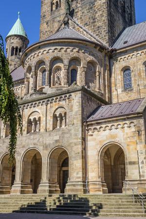westfalen: Front of the St. Antonius Basilica in Rheine, Germany