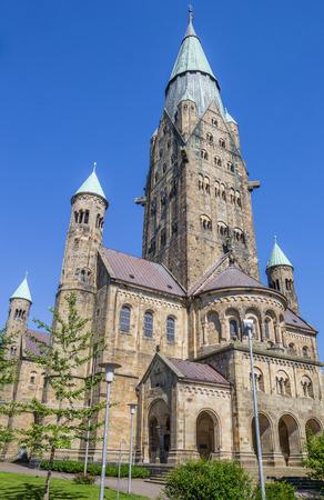 westfalen: St. Antonius Basilica in historical city Rheine, Germany Stock Photo