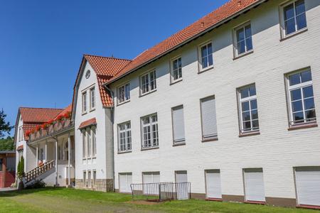 josef: Josef Pieper school building at the Saline Gottesgabe near Rheine, Germany