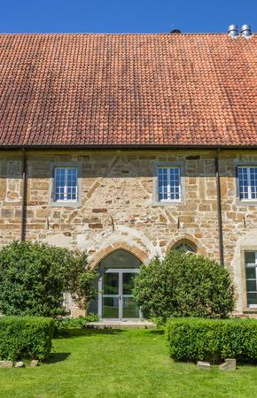 westfalen: Entrance of the Bentlage monastery near Rheine, Germany Stock Photo