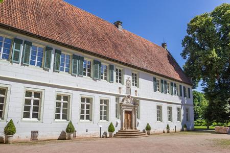 westfalen: Front of the Bentlage monastery near Rheine, Germany Editorial