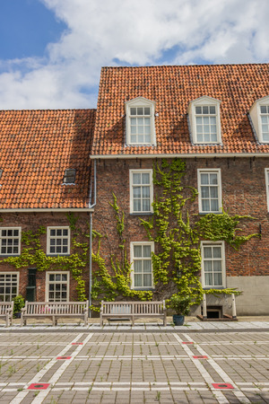 Building of the former orphanage in Groningen, Netherlands Stock Photo