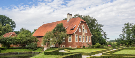 Panorama of mansion Haus Ruschhaus in Munster, Germany