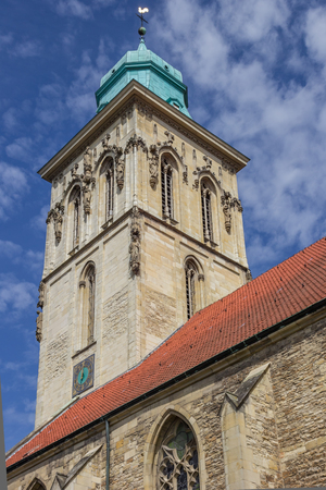 westfalen: Tower of the st. martini church in Munster, Germany Stock Photo