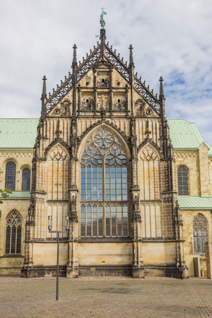 St. Paulus Dom in the historical center of Munster, Germany