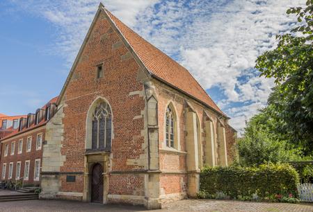 westfalen: Church Johannes Kapelle in the historical center of Munster, Germany Stock Photo