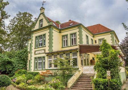 westfalen: Historical mansion Muhlenhof in the center of Telgte, Germany