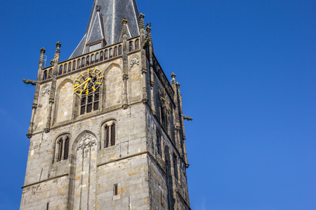 st german: Church of st. Mary on the central square of Ahaus, Germany