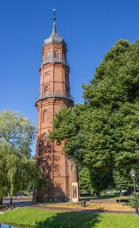 alter: Historical tower Alter Turm in the center of Papenburg, Germany