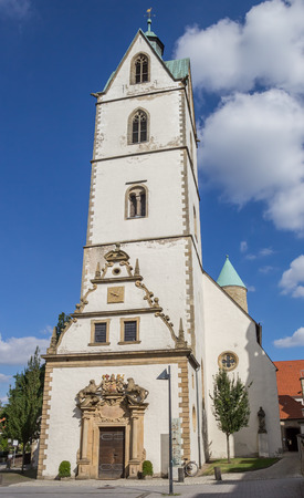 westfalen: Busdorf Church in the historical center of Paderborn, Germany