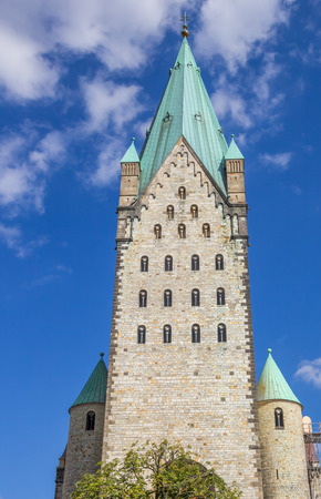 Tower of the Dom church of Paderborn, Germany