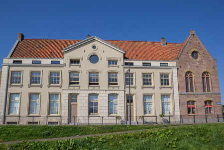 hoorn: Former prison building on the Oostereiland in Hoorn, Holland Editorial