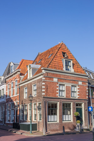 hoorn: Historical house in the center of Hoorn, The Netherlands Editorial