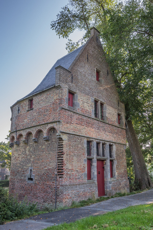 hoorn: Historical tower Mariatoren in the center of Hoorn, Holland Editorial