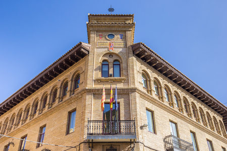 post office: Old post office in the historical center of Huesca, Spain