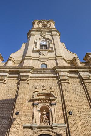 lorenzo: San Lorenzo church in the center of Huesca city, Spain