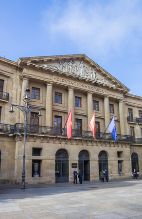 local government: Local government building of the Navarra region in Spain