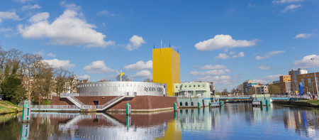 Panorama of the Groningen museum in The Netherlands