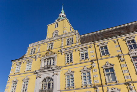 Facade of the castle of Oldenburg in Germany