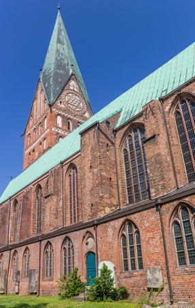 St. Johannis church in the historic center of Luneburg, Germany