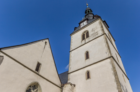 Church at the central market square of Detmold, Germany