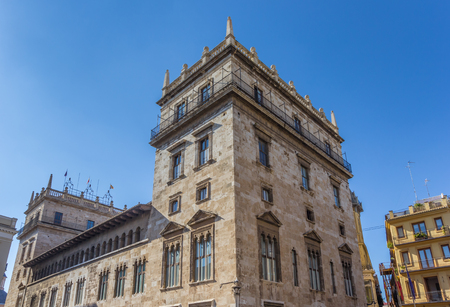 Palace of the generalitat in Valencia, Spain