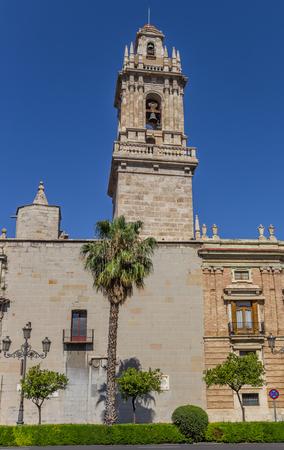 Tower of the Convento de Santo Domingo monastery in Valencia, Spain
