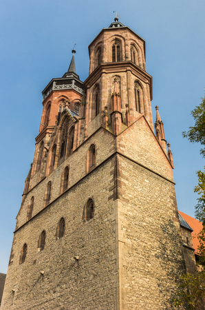 Historic St. Johns church in Gottingen, Germany Stock Photo