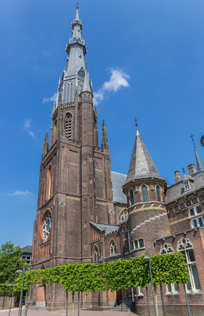 Catholic Bonifatius church in the center of Leeuwarden, Netherlands
