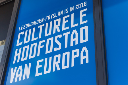 Promotion of Leeuwarden as the cultural capitol of Europe in 2018