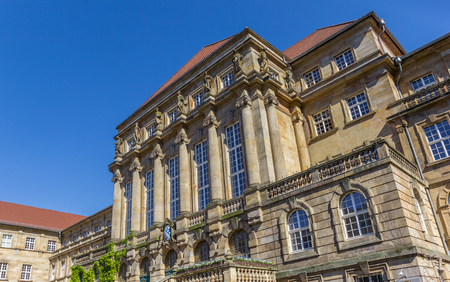 Facade of the historic town hall of Kassel, Germany Banco de Imagens - 105563556