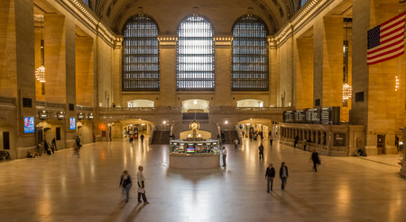 Interior of the Grand Central Station in New York City, USA