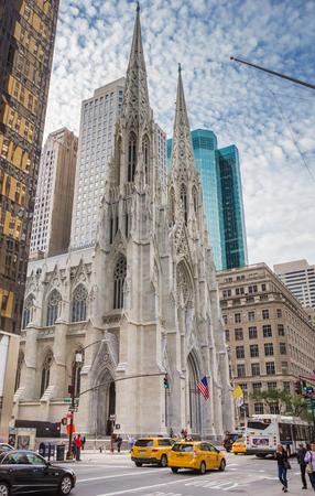 Catedral de San Patricio en la Quinta Avenida de Nueva York, EE.