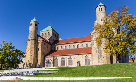 St. Michaelis monastery in the historic center of Hildesheim, Germany