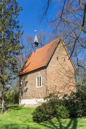 Little chapel at the Burg Vischering in Ludinghausen, Germany