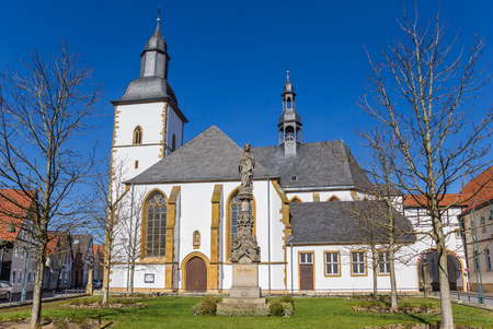 Franziskanerkloster monastery in historic city Wiedenbruck, Germany