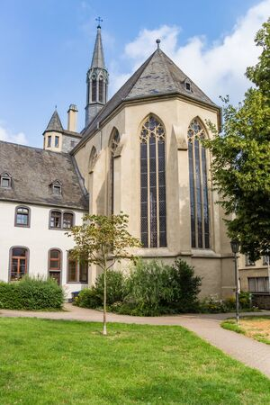 Church of Christ in the historic center of Andernach, Germany