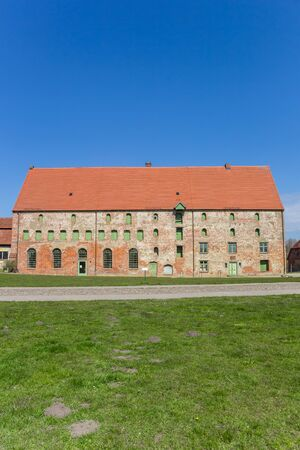 Historic building of the monastery in Dargun, Germany Imagens - 133336160