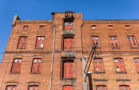 Historic warehouse in the center of Schwerin, Germany Imagens - 132814664