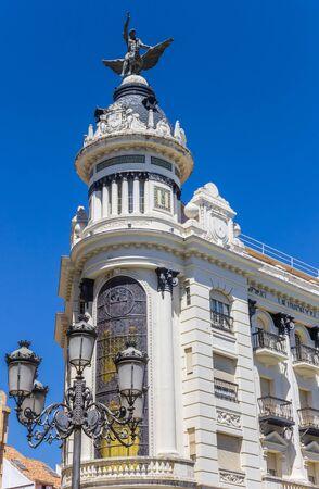 Historic building at the Tendillas square in Cordoba, Spain
