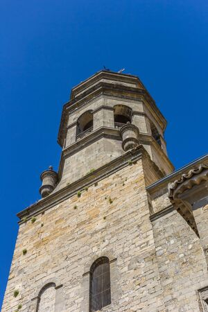 Tower of the historic cathedral in Baeza, Spain